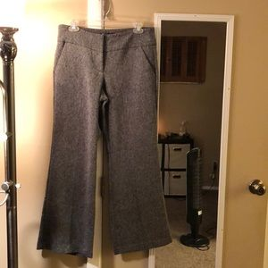 New York and Co wide leg dress pants - petite